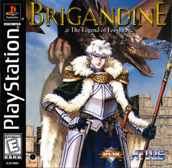Brigandine - Legend of Forsena [U] Front Cover